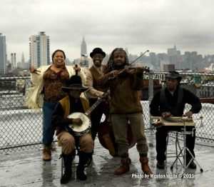 the Ebony Hillbillies Bklyn roof_Weston Wells_index